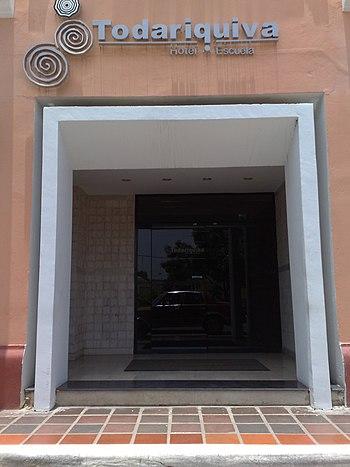 Entrada al hotel Todariquiva%2C Santa Ana de Coro