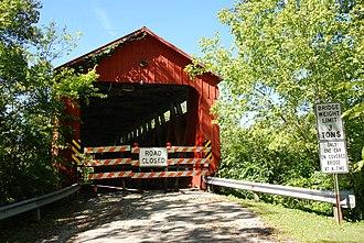 Stonelick Township, Clermont County, Ohio - Stonelick Covered Bridge
