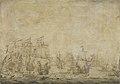 Episode uit de zeeslag in de Sont tussen de Hollandse en de Zweedse vloten, 8 november 1658 Rijksmuseum SK-A-1467.jpeg