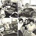 Equipo de talentos de radio al aire en Veracruz Estéreo Medellín.jpg