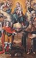 Ercole Ramazzani, Madonna col Bambino e i santi Michele Arcangelo e Antonio Abate, 1588, Cerreto d'Esi, chiesa di Santa Maria Assunta.jpg