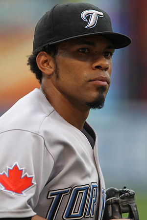 Eric Thames - Thames with the Toronto Blue Jays in 2011