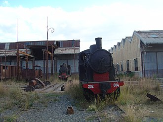 Mogadishu–Villabruzzi Railway - A pair of class 202 locomotives, similar to those used in the Somali railway