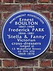 Ernest Boulton 1847-1904 Frederick Park 1846-1881 'Stella & Fanny' Victorian cross-dressers lodged at 13 Wakefield Street on this site 1868-1870.jpg