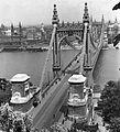 Erzsébet híd a Gellérthegyről. Fortepan 10957.jpg