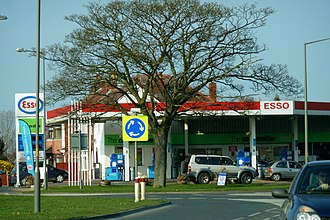 Co-op Food - Image: Esso Northallerton