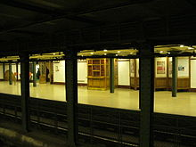 Old subway station