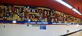 Estación de La Elipa, mural de pintores.JPG