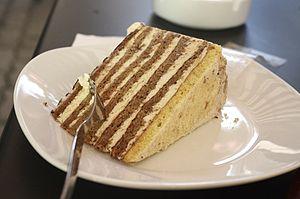 Esterházy torte - Image: Eszterhazy Torte 01