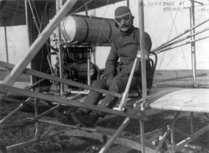 Test pilot - Eugène Lefebvre, test pilot and world's first pilot to be killed in an accident while flying a powered aircraft in 1909