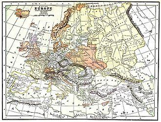 Livonia - Europe, 1550.
