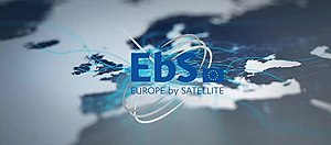 Europe by Satellite - Logo of EbS.