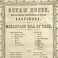 Eutaw House restaurant menu (circa 1850s-1860s).jpg