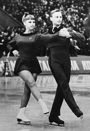 Eva Romanová - Eva Romanova and Pavel Roman in 1965