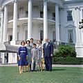 Evelyn Wadsworth Symington and Guests at White House (14990682095).jpg