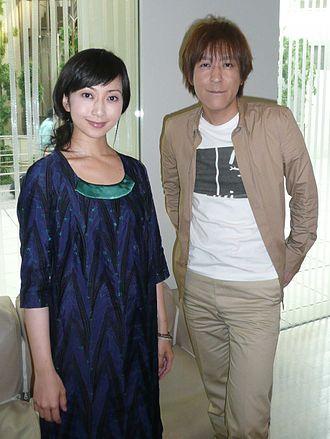 Kaori Mochida - Kaori Mochida (left) with Ichiro Ito (right) in 2008