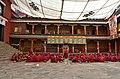 Examination of monks, Tashilhunpo Monastery, Shigatse, Tibet (6).jpg