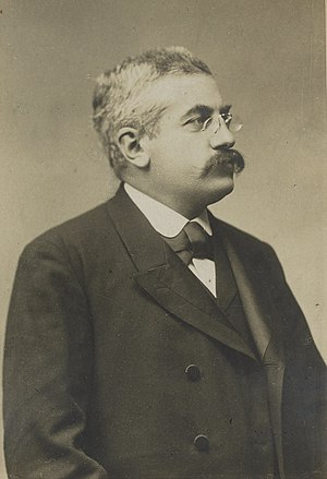 Alexandre Millerand - Alexandre Millerand at the Expo 1900 in Paris.