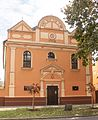 Exterior of the Synagogue in Mátészalka.jpg