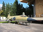 F-104 Starfighter at the Athens War Mueum November 2013.jpg