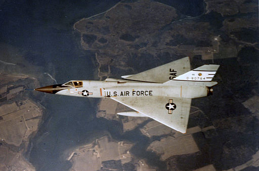 F-106A from top