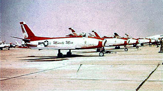 120th Fighter Squadron - Minute Men aerobatics team c1958