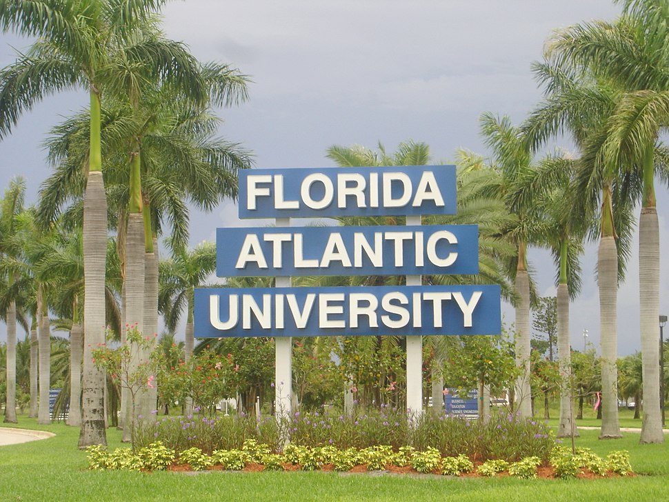 FAU Sign NW 20th St