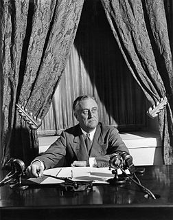Fireside chats Series of radio broadcasts by US President FDR