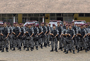 National Public Security Force - Agents of the National Public Security Force in 2012.