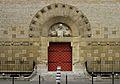 Façade de l'Eglise Saint Dominique dans le 14 ieme arrondissement de Paris.jpg