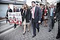 Fabián Picardo en su recorrido tras conocerse que será el nuevo Ministro Principal de Gibraltar (23265878171).jpg