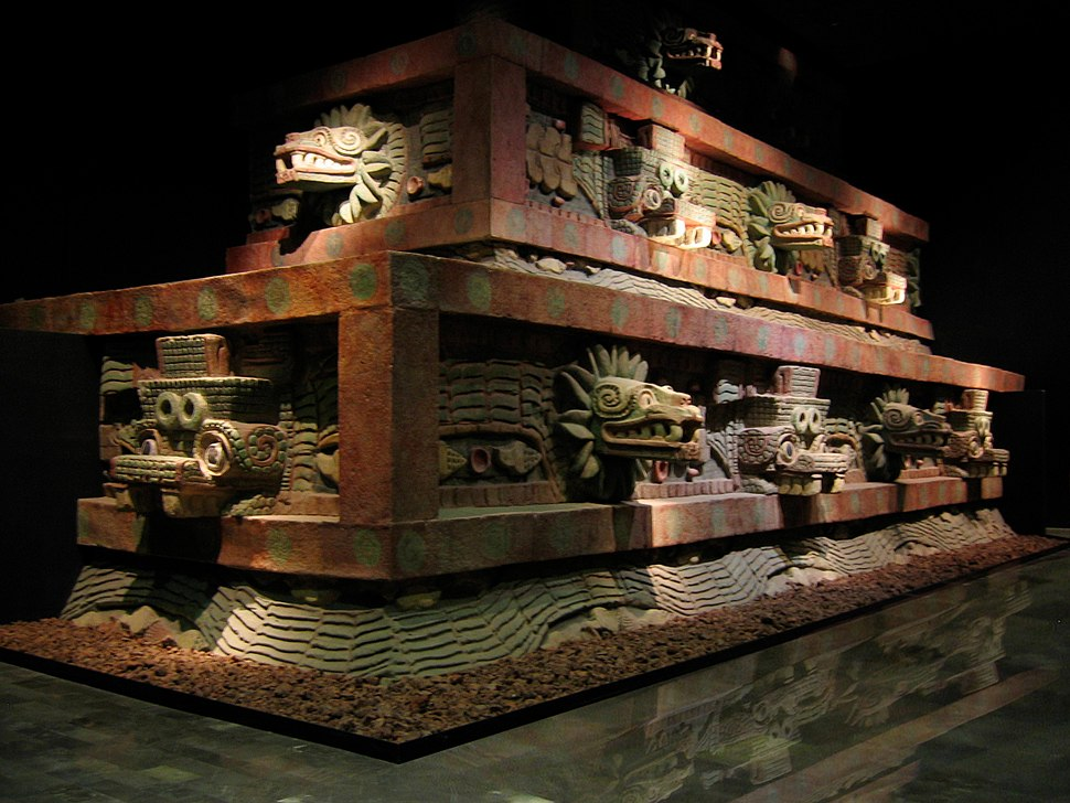 Facade of the Temple of the Feathered Serpent (Teotihuac%C3%A1n)