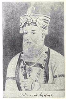 Faizullah Khan nawab of Rampur