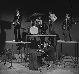 Manfred Mann - Manfred Mann on the Dutch TV programme Fenklup on 27 May 1967