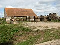 Farm shed and old straw bales on Matlaske Road near Saxthorpe - geograph.org.uk - 543256.jpg
