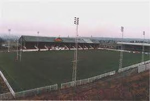 Huddersfield Giants - Main stand at Fartown