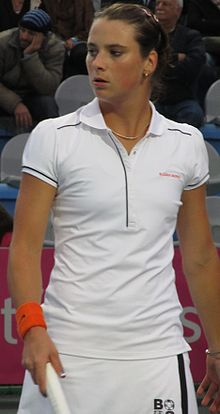 Fed Cup Group I 2012 Europe Africa day 1 Bibiane Schoofs 003.JPG