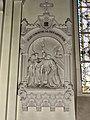 Feignies (Nord, Fr) église, chemin de croix, station 04.JPG