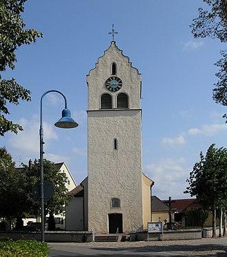 Feldkirch (Hartheim) - Image: Feldkirch (Breisgau), katholische Kirche St. Martin