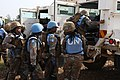 Female combat troops of South African Contingent in MONUSCO on robust foot and moblile patrols 40.jpg