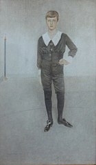 Portrait of Prince Leopold of Belgium, Duke of Brabant