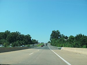 Fairfax County Parkway - Another view of the Parkway