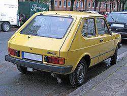 Hatchback. Fiat 127 second series.