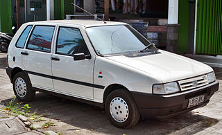 Fiat Uno A supermini manufactured and marketed by Fiat.