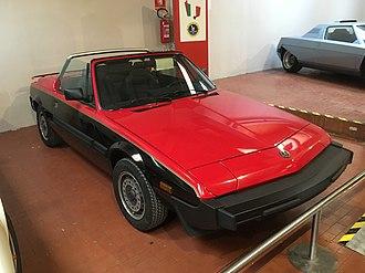 Fiat X1/9 - X1/9 Spider prototype