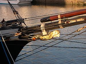 La Recouvrance (schooner) - Image: Figure de proue de la Recouvrance