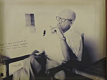 File photo of Pierre Jeanneret at Le Corbusier Centre Chandigarh 03.jpg