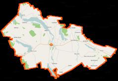 Mapa lokalizacyjna gminy Filipów