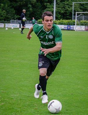 Filip Kostić - Kostić training with FC Groningen in 2013
