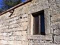 Finestra dall'esterno, chiesa di San Salvatore..JPG
